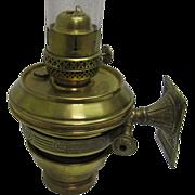 Railroad or Marine Wall Bracket Oil Lamp - Adams & Westlake
