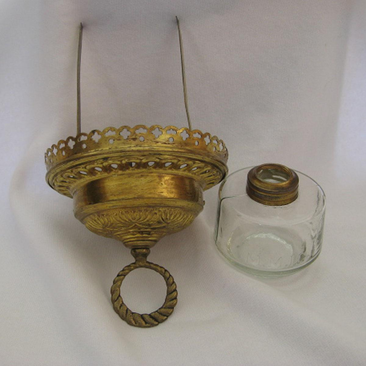 Oil Lamp Parts For Victorian Hanging Hall Lamp from ...