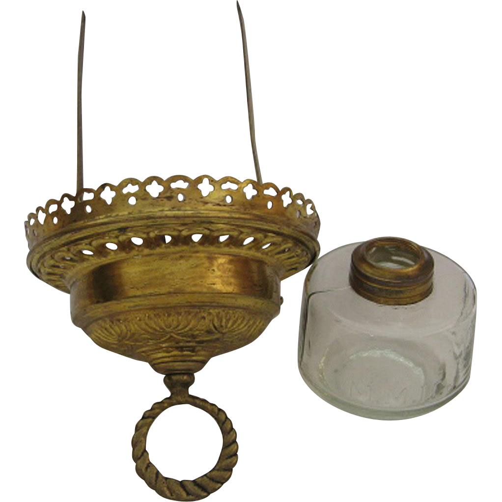 Oil Lamp Parts For Victorian Hanging Hall Lamp Eileen