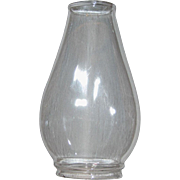 Oval Oil Lamp Chimney for Pinafore Burner - No 2 Size