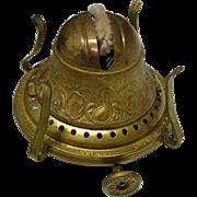 Fancy 1892  Bridgeport Brass No. 2 Oil Lamp Burner
