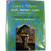 Louis Comfort Tiffany Reference Book by Robert Koch