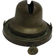 1877 Blackman Oil Lamp Burner