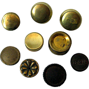 Oil Lamp Fill Caps Lot