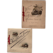Two Old Wirths Brothers Christmas Gift Booklets