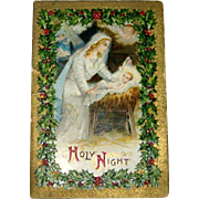 Christmas Gift Booklet Holy Night