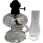 Miniature Oil Finger Lamp - Daisy