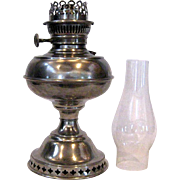 Nickle Plated Rayo Junior Oil Lamp