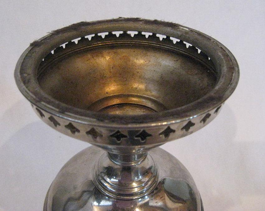 Nickle Plated Rayo Junior Oil Lamp From Arizonalamplady On
