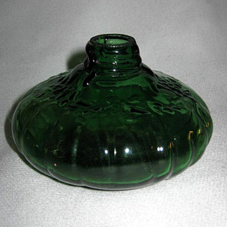 Green Miniature Oil Lamp Base - Glow Lamp