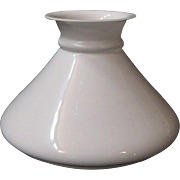 Seven Inch Fitter Antique Oil Lamp Slant Shade