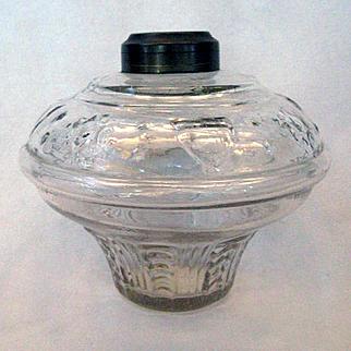 Shield & Star Civil War Era Oil Lamp Font