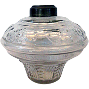 Shield & Star Civil War Era Oil Lamp Font