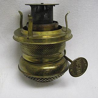 Scarce Columbus Oil Lamp Burner