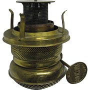 Scarce Columbus Oil Lamp Burner