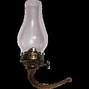 Small Burner & Chimney For Oil Lamp