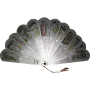 Large 1904 Fan Calendar