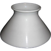 Eight Inch Slant Old Oil Lamp Shade