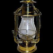 Brass Ham's Gem Cold Blast Lantern