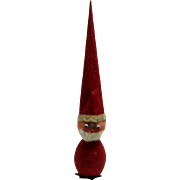 Tall Santa Claus Candy Container - Paper Mache