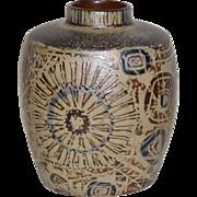 Royal Copenhagen Fajance modernist pottery vase