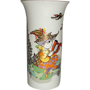 Bjorn Wiinblad Rosenthal mini vase boy with harp