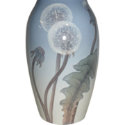 Bing and Grondahl Dandelion Vase large size