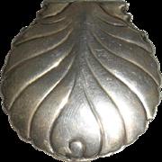 Sterling Box Scallop Shell Shape Tiffany & Co. 19th c.