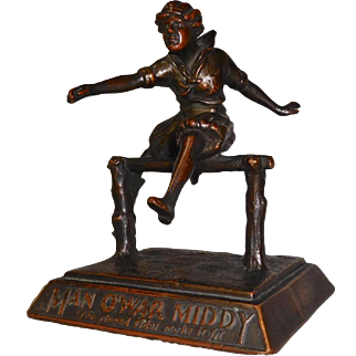 Advertising Sculpture Man O'War Middy Clothing Company