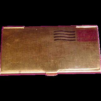 Vintage Stamp Box for purse or pocket