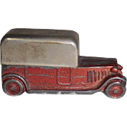 Old Automobile Pencil Sharpener Metal
