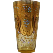 Moser art glass Juice Glass 1890's