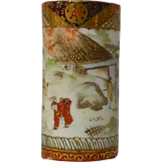 Kutani Miniature Vase Doll House Umbrella Stand