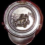 Coin Purse 1920's Touring Car Chauffeur Cap style