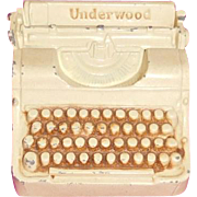Underwood Typewriter Bank 1939 World's Fair