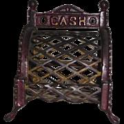 Cash Register Bank Cast Iron c. 1905
