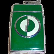 Art Deco Compact Cig. Case Lighter Combination Evans