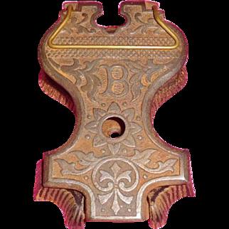 Cast Iron Desk Paper Clip Patented 1889