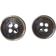 "Gucci Cufflinks ""Buttons"" Sterling silver"