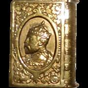 Vesta Match Safe Edward VII  Royal Commemorative