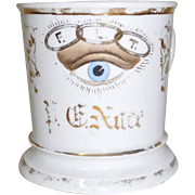 Shaving Mug Odd Fellows All Seeing Eye