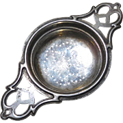 Sterling SIlver Tea Strainer for cup or mug