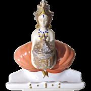 Art Deco Porcelain Inkwell Harem Girl Goebel