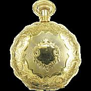 1890 14k Ladies Elgin Pocket Watch