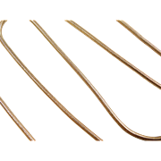 "Vintage 18k Gold Snake Chain ~ 15"" ~ 8.9 Grams"