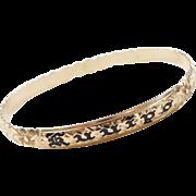 """Vintage 14k Gold My Sweetheart Bracelet ~ Hawaiian Bracelet """"Kuuipo"""""""
