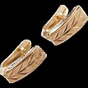 Vintage 10k Gold Earrings