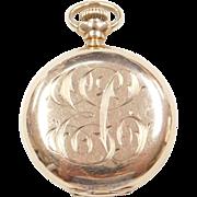 Victorian 14k Gold Pocket Watch