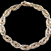 """Vintage 14k Gold Bracelet ~ 6 1/2"""""""