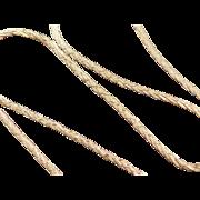 "Vintage 14k Gold Long Chain ~ 24"" ~ 7.7 Grams"